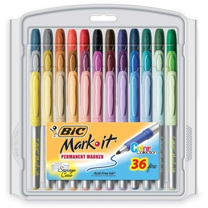 BIC Mark-it Marker BICGXPMP361ASST