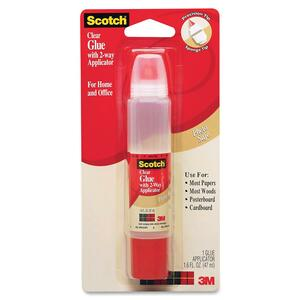 Scotch 2-Way Applicator Clear Glue Stick MMM6050