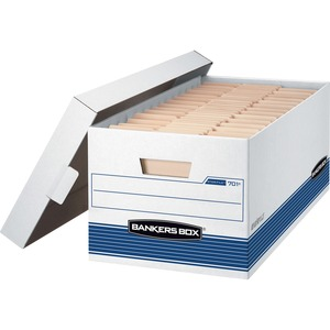 Bankers Box Stor/File - Letter, Lift-Off Lid 4pk FEL0070104