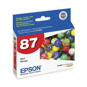 Epson UltraChrome Ink Cartridge - Red EPST087720