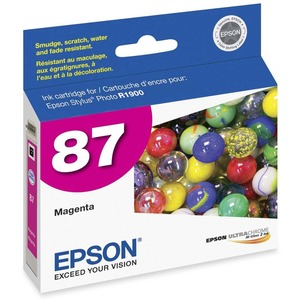 Epson UltraChrome Hi-Gloss 2 Pigment Magenta Ink Cartridge EPST087320