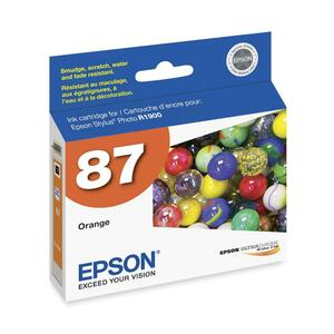 Epson UltraChrome Hi-Gloss 2 Pigment Orange Ink Cartridge EPST087920