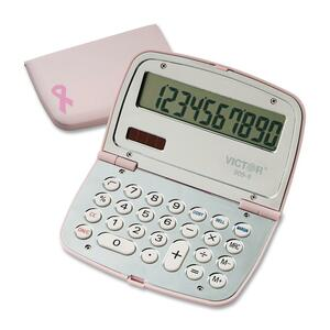 Victor 9099 Pink BCA Calculator VCT9099