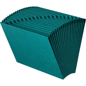 Smead 70717 Teal Colored Expanding Files SMD70717