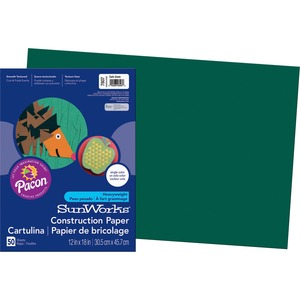 Pacon SunWorks Groundwood Construction Paper PAC7807