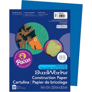 Pacon SunWorks Groundwood Construction Paper PAC7503