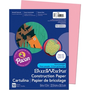 Pacon SunWorks Groundwood Construction Paper PAC7003