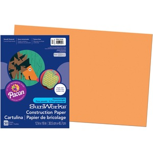Pacon SunWorks Groundwood Construction Paper PAC8507