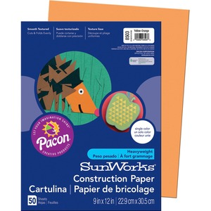 Pacon SunWorks Groundwood Construction Paper PAC8503