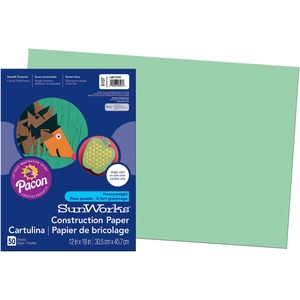 SunWorks Groundwood Construction Paper PAC8107