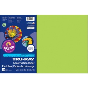 Pacon Tru-Ray Sulphite Construction Paper PAC103425