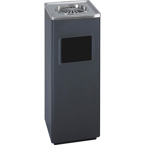 Safco Ash-N-Trash Sandless Urn Smokers Pole SAF9696BL