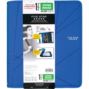 Mead First Gear Zipper Binder MEA29058