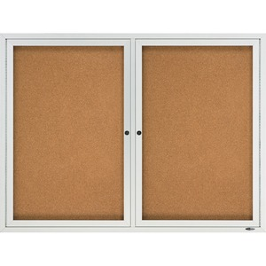 Quartet Outdoor Bulletin Board QRT2124