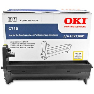 Oki Yellow Image Drum For C710 Series Printers OKI43913801