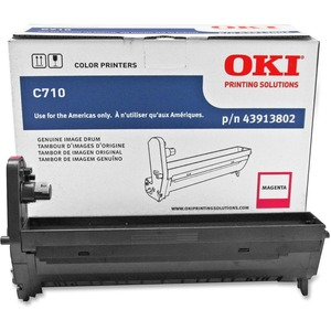 Oki Magenta Image Drum For C710 Series Printers OKI43913802