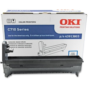 Oki Cyan Image Drum For C710 Series Printers OKI43913803