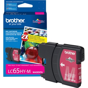 Brother High Yield Magenta Ink Cartridge BRTLC65HYM