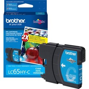 Brother Ink Cartridge - Cyan BRTLC65HYC
