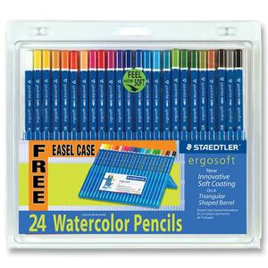 Staedtler Ergosoft Watercolor Pencil STD156SB24CS