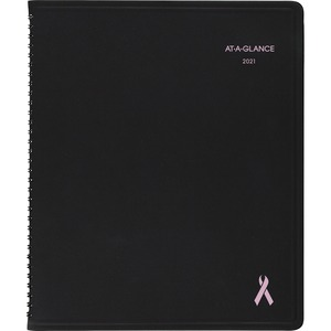 At-A-Glance QuickNotes Breast Cancer Appointment Book AAG76PN0105