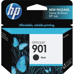 HP 901 Ink Cartridge - Black HEWCC653AN