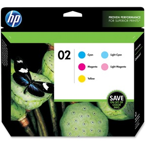 HP 2 Combo Pack Ink Cartridge - Cyan, Light Cyan, Magenta, Light Magenta, Yellow HEWCC604FN