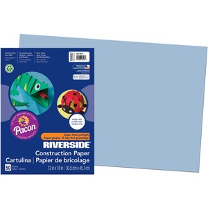Pacon Riverside Groundwood Construction Paper PAC103623