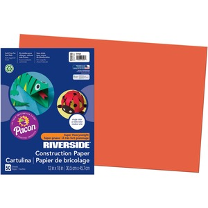 Riverside Groundwood Construction Paper PAC103618