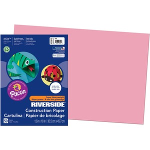 Pacon Riverside Groundwood Construction Paper PAC103615