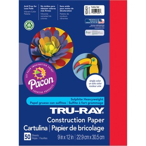 Pacon Tru-Ray Sulphite Construction Paper PAC103431
