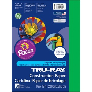 Pacon Tru-Ray Sulphite Construction Paper PAC103006