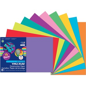 Pacon Tru-Ray Sulphite Construction Paper PAC102941