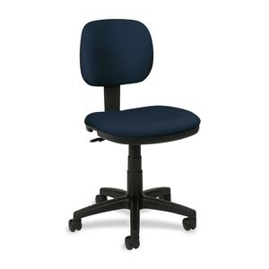 Basyx by HON VL610 Pneumatic Armless Task Chair BSXVL610VA90