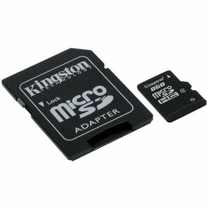Kingston 8GB microSDHC Card - (Class 4)