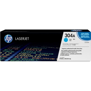 HP 304A Toner Cartridge - Cyan HEWCC531A