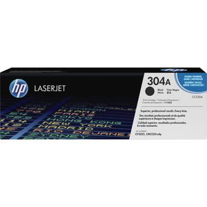 HP 304A Black Original LaserJet Toner Cartridge HEWCC530A