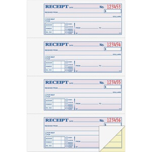 Adams Money/Rent Receipt Book ABFDC1182