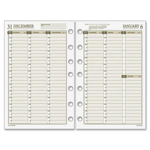 Day Runner PRO Vertical Planner Refill DRN481485