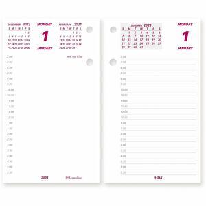 Brownline Calendar Pad Refill REDC2R