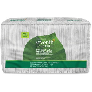 Seventh Generation 100% Recycled Napkins SEV13713