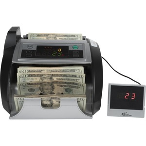 RBC2100 bill counter features external display & counterfeit detection UV/MG/IR RSIRBC2100