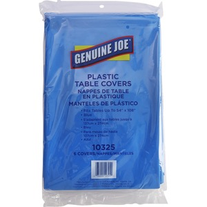 Genuine Joe Rectangular Table Cover GJO10325