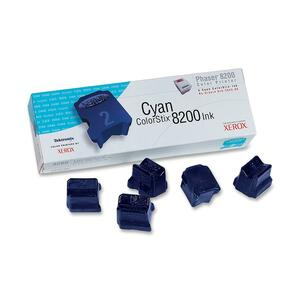 Xerox ColorStix 8200 Cyan Solid Ink Stick XER016204500