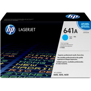 HP 641A Toner Cartridge - Cyan HEWC9721A