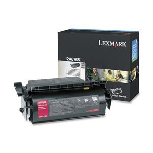 Lexmark Black Toner Cartridge LEX12A6765
