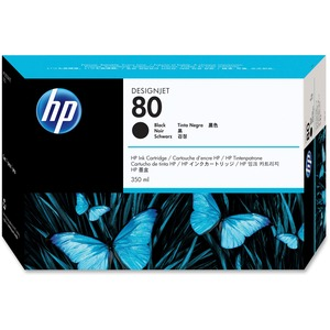 HP 80 Ink Cartridge - Black HEWC4871A