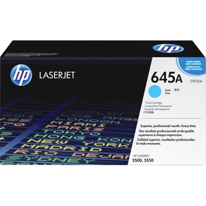 HP 645A Cyan Original LaserJet Toner Cartridge HEWC9731A