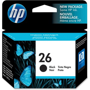HP 26 Ink Cartridge - Black HEW51626A