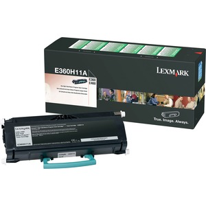 Lexmark High Yield Return Program Black Toner Cartridge LEXE360H11A